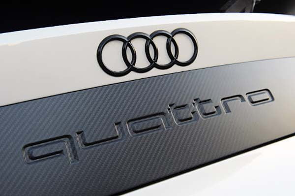 Công nghệ quattro trên đôi giày thể thao Audi