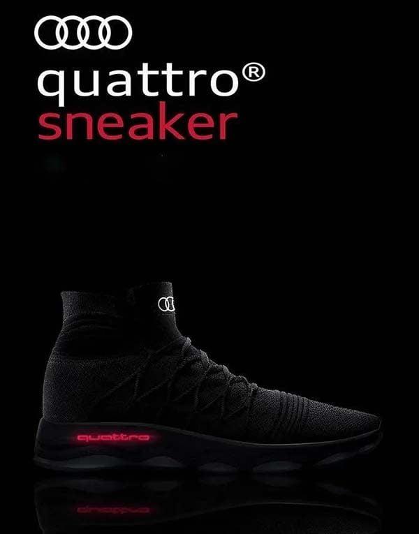 Giày của hãng ô tô Audi Quattro đột phá như thế nào?