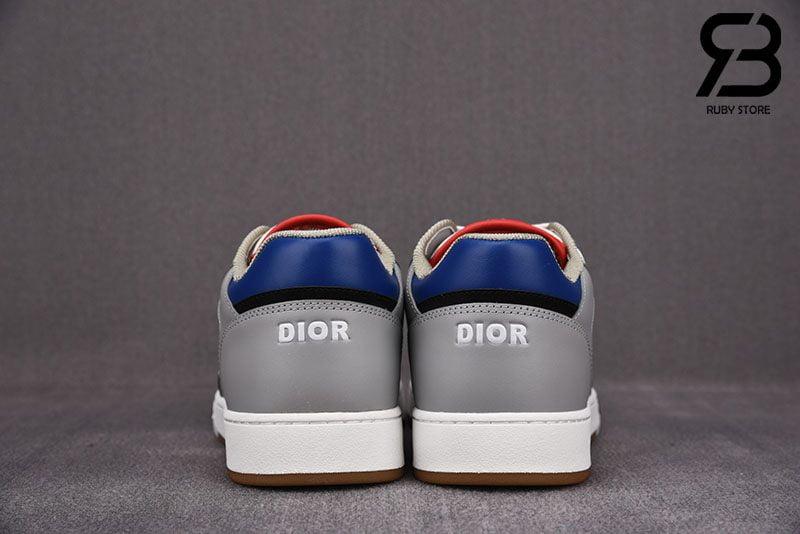 Giày Dior B27 Low-Top Blue, Grey and White Siêu Cấp