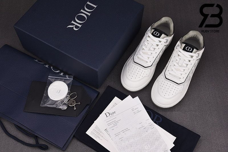 Giày Dior B27 Low-Top White Siêu Cấp