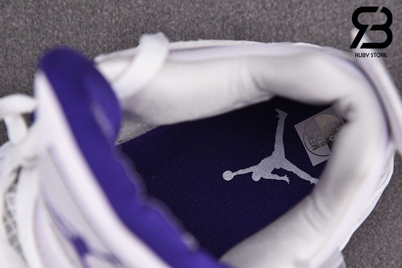 Giày Nike Air Jordan 4 Retro Metallic Purple Siêu Cấp