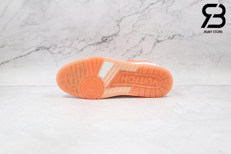 Giày Louis Vuitton Trainer Pink Siêu Cấp