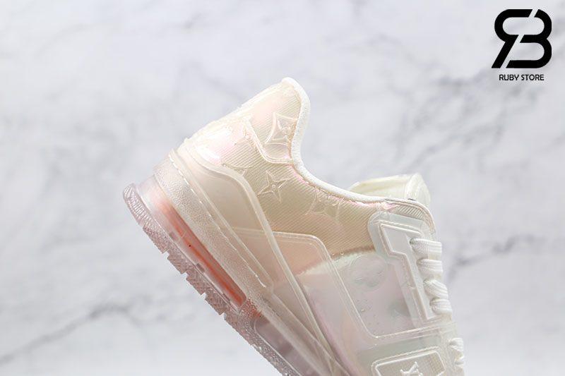 Giày Louis Vuitton Trainer Sneaker Transparent Siêu Cấp