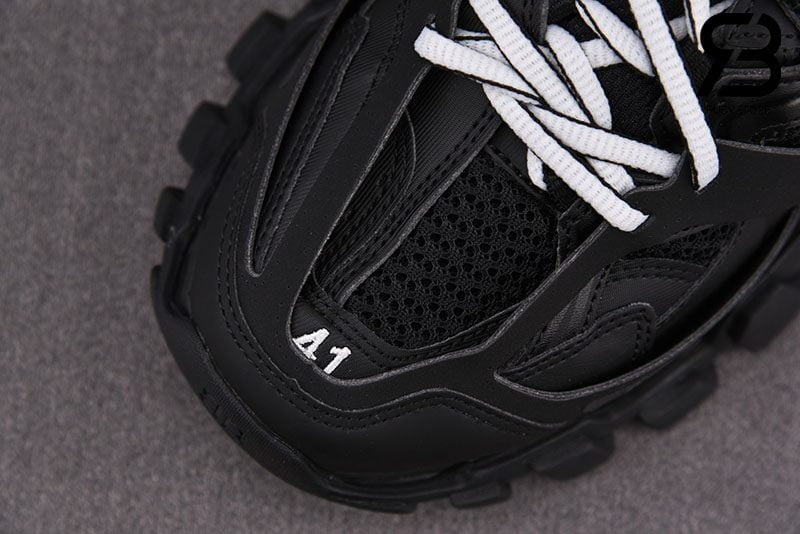 Giày Lười Balenciaga Track Mule Màu Đen Siêu Cấp