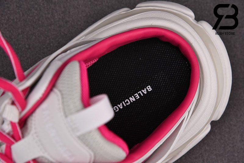 Giày Lười Balenciaga Track Mule Màu Hồng Siêu Cấp