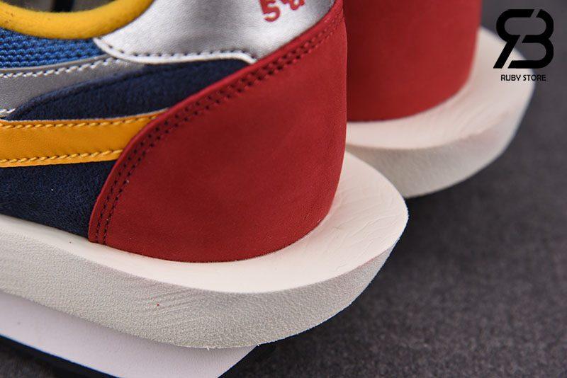 Giày Nike LD Waffle Sacai Blue Multi Siêu Cấp