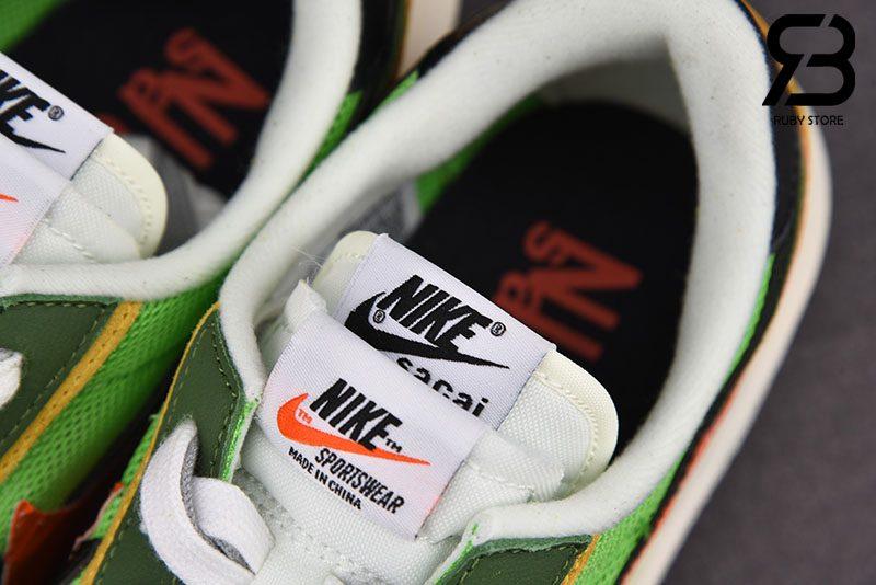 Giày Nike LD Waffle Sacai Green Multi Siêu Cấp