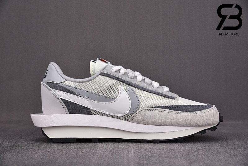 Giày Nike LD Waffle sacai Summit White Siêu Cấp