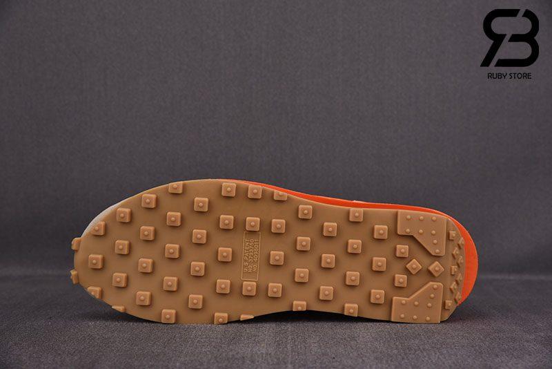 Giày Nike LDWaffle CLOT sacai Net Orange Blaze Siêu Cấp