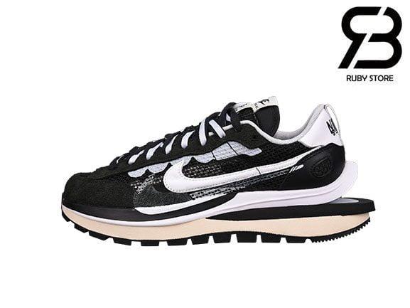 Giày Nike Sacai Vaporwaffle Black White Siêu Cấp
