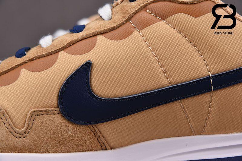 Giày Nike Sacai Vaporwaffle Sesame Blue Void Siêu Cấp