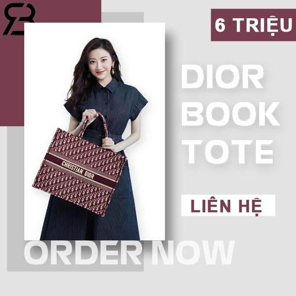 Nhận order túi dior book tote siêu cấp tại Ruby Store