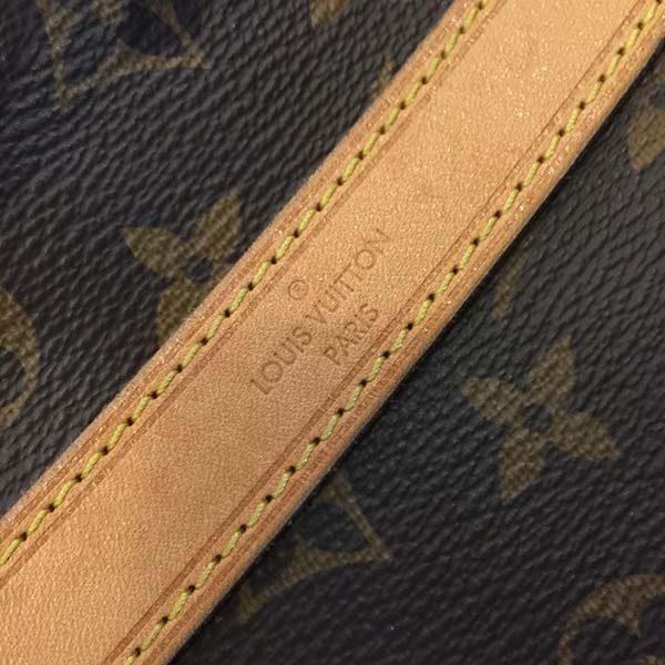 phân biệt túi Louis Vuitton auth và fake qua đường may