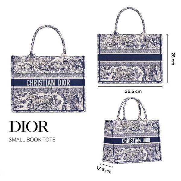 Kích thước túi Dior Book Tote
