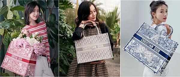 Cách phối với túi Book Tote Dior cho nữ
