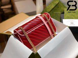 Túi Gucci GG Marmont small shoulder bag đỏ best quality