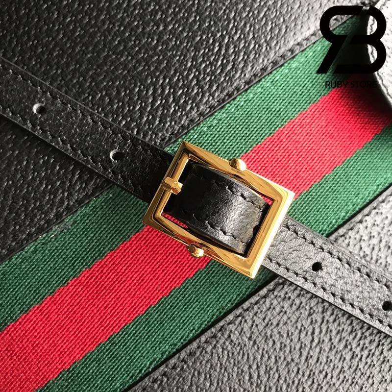 Túi Gucci Ophidia GG small shoulder bag black best quality