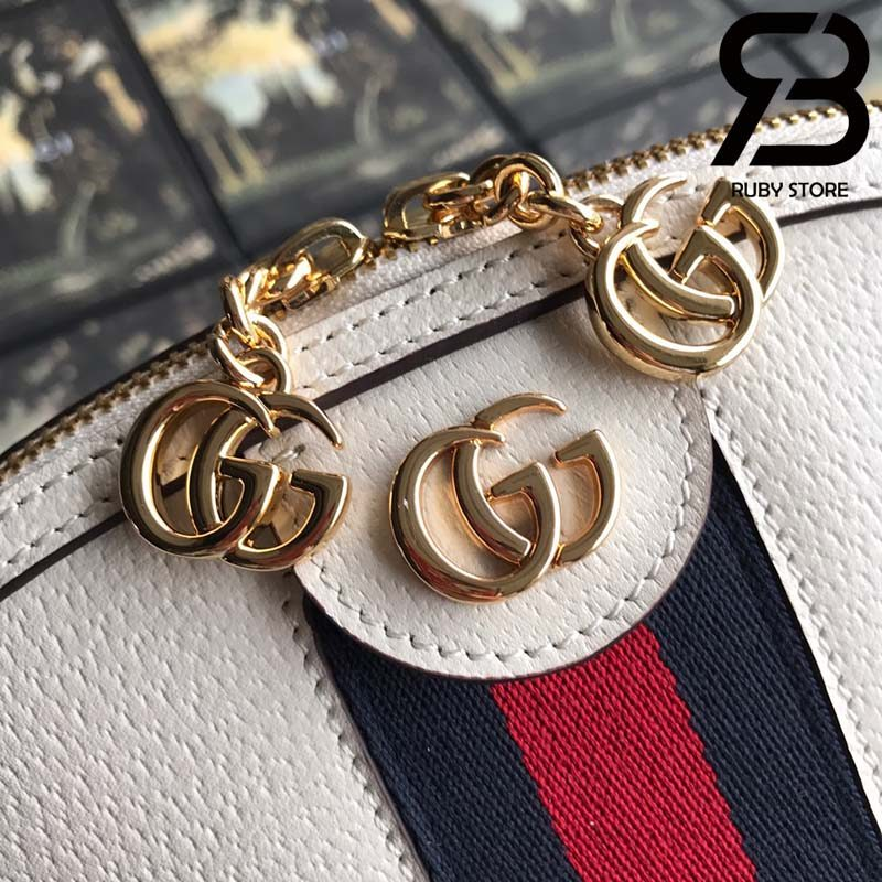 Túi Gucci Ophidia GG small shoulder bag white best quality
