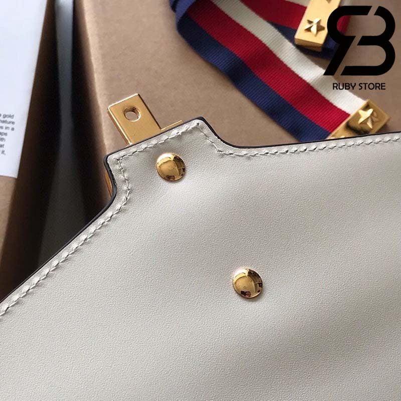 Túi Gucci Sylvie small shoulder bag màu trắng best quality