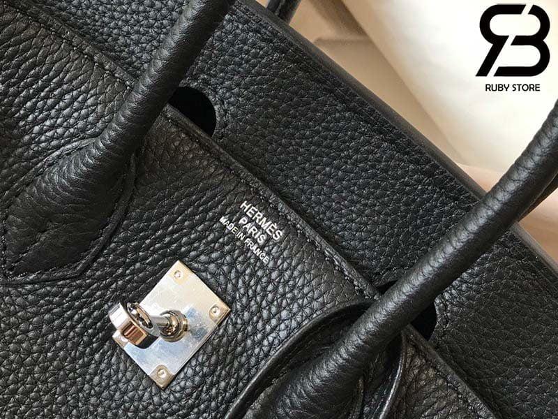 Túi Hermes Birkin Bag 25cm Black Togo Best Quality 99% Auth