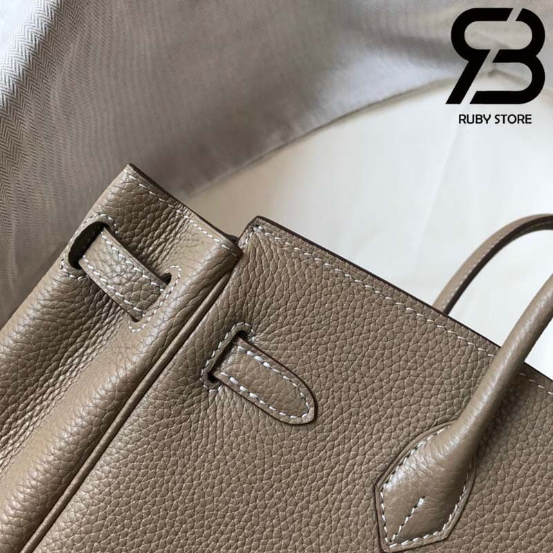 Túi Hermes Birkin Bag 25cm Grey Togo Best Quality 99% Auth