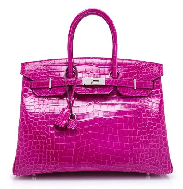 Hermès Fuchsia Birkin Bag