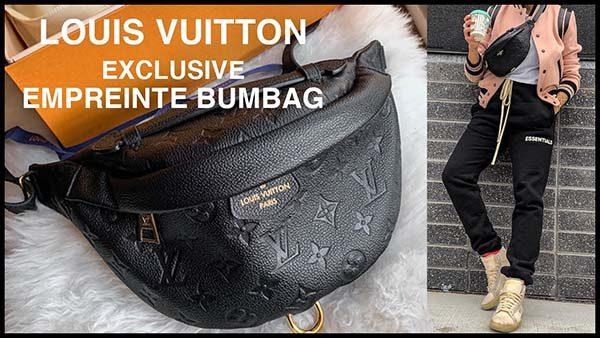 Louis Vuitton Monogram Empreinte Bumbag