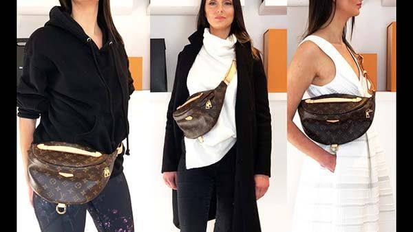 Thiết kế của túi LV bao tử Bumbag