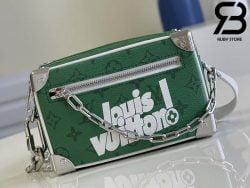 Túi LV Mini Soft Trunk Green Vintage Monogram Best Quality 99% Auth