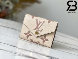 Túi Victorine Wallet Cream Hồng Best Quality 99% Auth