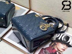 Túi Medium Lady Dior Bag Xanh Bóng Best Quality 99% Auth