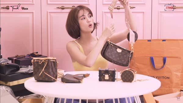 Ngọc Trinh và chiếc túi Louis Vuitton Multi Pochette