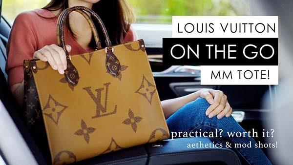 Túi Louis Vuitton on the go