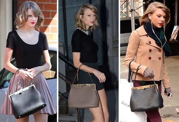 Dolce & Gabbana là túi xách trung niên của Taylor