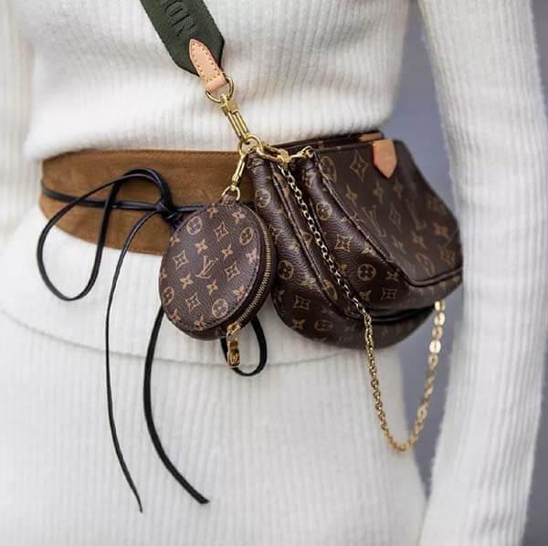 Túi phụ kiện Louis Vuitton Multi-Pochette 2021 mọi cô gái mong muốn