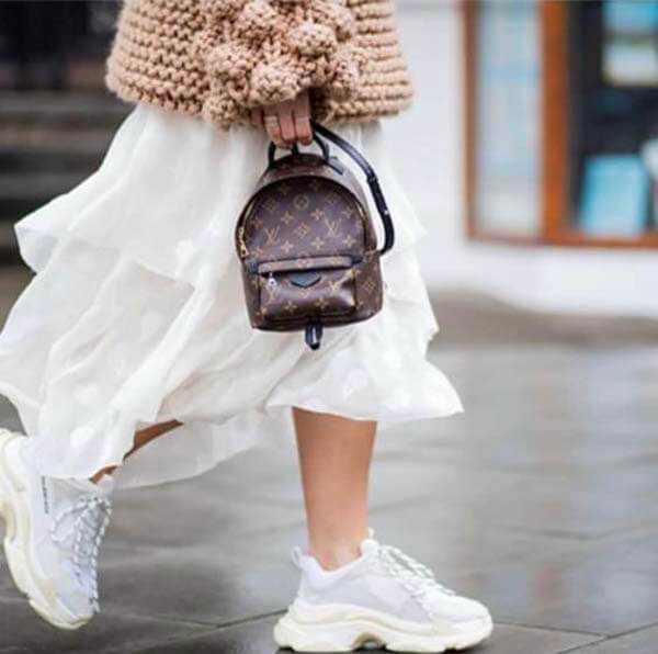 Ba lô Louis Vuitton Palm Springs Mini 2021 đáng mua nhất