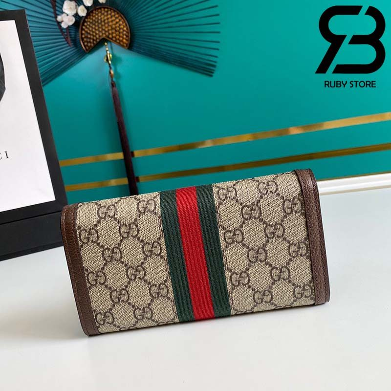 Ví Gucci Ophidia GG continental wallet best quality