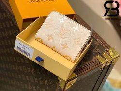 Ví LV Zippy Coin Purse Monogram Cream Best Quality 99% Auth