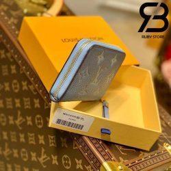 Ví LV Zippy Coin Purse Monogram Xanh Best Quality 99% Auth