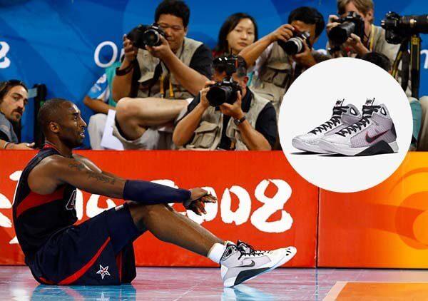 Giày Nike Hyperdunk của Kobe Bryant trong Olympic 2008