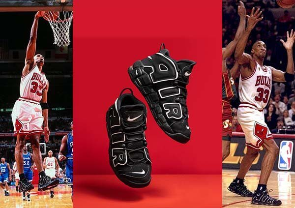 Olympic 1996: Air More Uptempo của Scottie Pippen