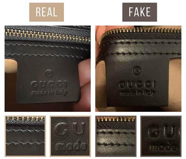 Cách nhận biết túi GG Marmont thật giả qua logo