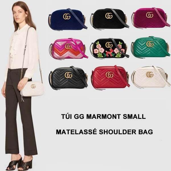 Thiết kế túi Gucci Marmont matelassé small