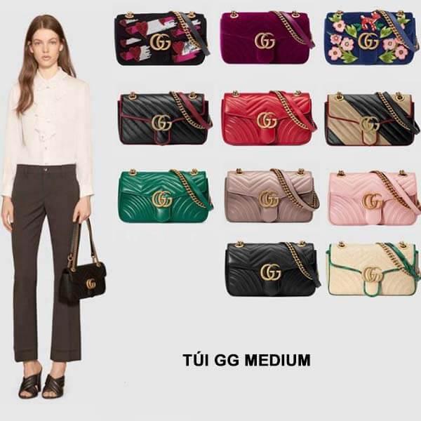 Thiết kế túi Gucci Marmont Medium