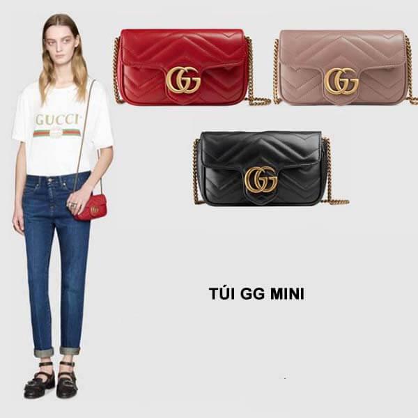 Thiết kế túi Gucci Marmont Mini