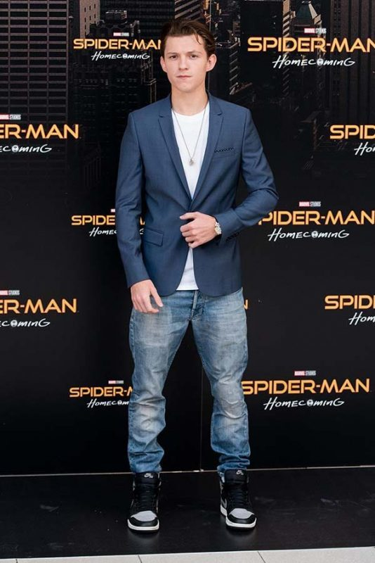 Jordan 1 High Shadow trong Spiderman: Homecoming