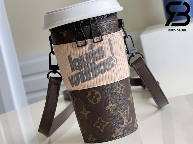 Túi LV Coffee Cup Monogram Brown Best Quality 99% Auth