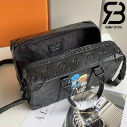 Túi LV Speedy Soft Trunk Taurillon Black Best Quality 99% Auth