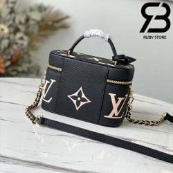 Túi LV Vanity PM Monogram Empreinte Black Best Quality 99% Auth