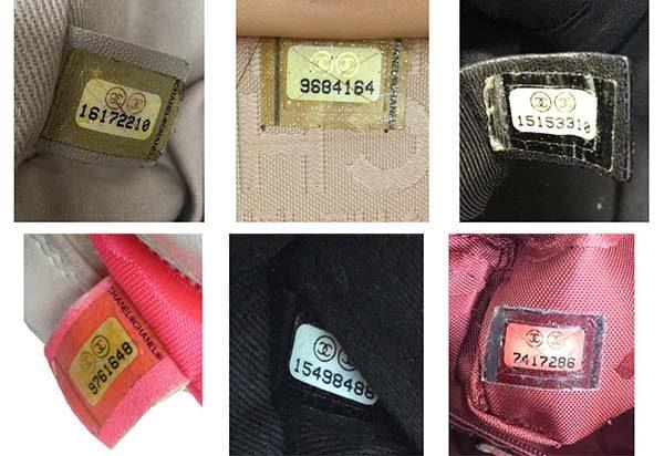 Mã code Chanel nằm trong túi